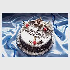 Black Forest Birthday Cake 1 Kg