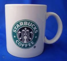 Lot of 2 tall starbucks large logo mermaid siren coffee mugs set. Large 16 Oz Starbucks Coffee Mug Cup Mermaid Dudson Eng 328320726
