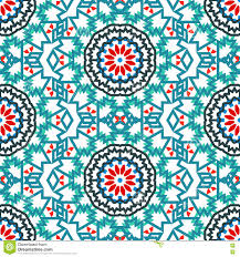 Bohemian Pattern Fascinating Vector Ethnic Colorful Bohemian Pattern Stock Vector Illustration