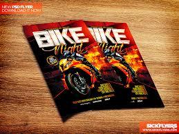 Bike Night Flyer Template Psd By Industrykidz On Deviantart
