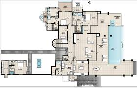 ground floor plan anguilla beach house