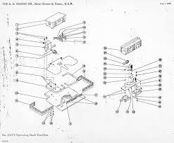 American flyer operating stock yard car 23771 parts list diagram
