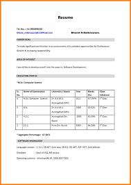 Bsc Nursing Cv Format Professional Resume Templates