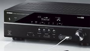 yamaha receivers. yamaha rx-v377 5.1 channel receiver review receivers