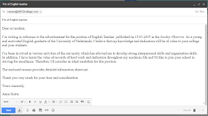 Mercedes English Class Writing Formal Email