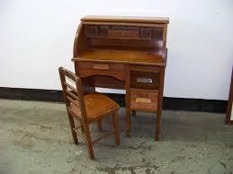 antique childs roll top desk