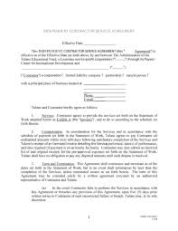 independent contractor agreement forms templates independent contractor agreement 15