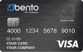 what is a virtual visa card bento