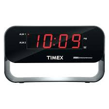 timex digital wall clock digital clock dual alarm clock with charging wireless weather atomic digital wall timex digital wall clock