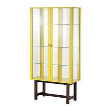 stockholm cabinet with glass doors