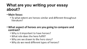 odysseus epic hero essay ms snuffer s room closing up the  the hero essay what are you writing your essay about main focus what are you writing