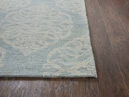 rizzy home ont area rug light blue light gray beige contemporary area rugs by plushrugs