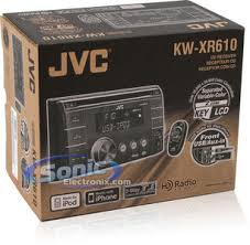 jvc kw xr610 double din cd mp3 car stereo w aux usb product jvc kw xr610