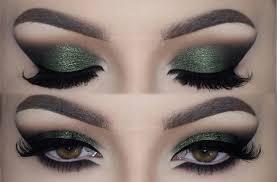 olive green cat smokey eyes make up tutorial melissa samways you