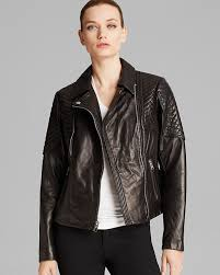 michael michael kors michl michl kors jacket missy leather quilted moto
