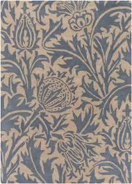 surya wlm 3008 william morris designer wool area rug