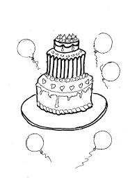 Immagini Da Colorare Torte Di Compleanno Idea Di Immagine Del Torta