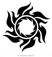 Disegno Tatuaggitribali09 Misti Da Colorare