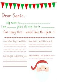 Free Letter From Santa Word Template Word Santa Letter Template Magdalene Project Org