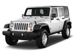 2011 jeep wrangler unlimited 4wd 4 door rubicon angular front exterior view