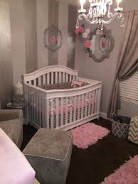 Gray, White and Pink Nursery | Nursery gray, Project nursery and ...