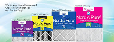 Carrier Filter Size Chart Nordic Pure Inc