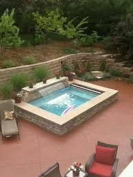 Pool Designs For Small Backyards Inspiration Pin By Omar R Harris On Jardines Pinterest Backyard Small