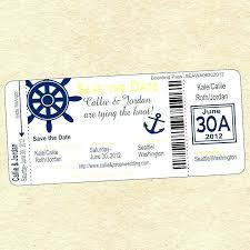 Free Templates For Tickets Cruise Ticket Template Free