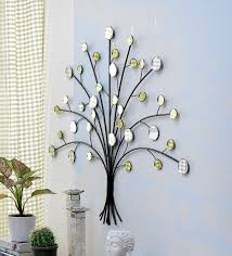 multicolour metal tree wall decor by importwala