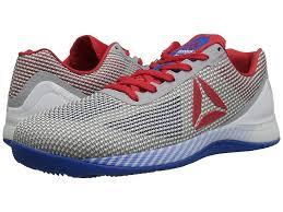 reebok shoes red and black. reebok crossfit(r) nano 7.0 (white/awesome blue/primal red/black/skull grey) men\u0027s cross training shoes red and black