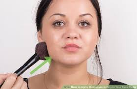 image led apply makeup according to your face shape step 9