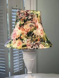 Boho Light Shade Bohemian Lamp Shade Boho Lamp Shade Floral Lamp Shade