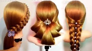 Hair Style Girl 10 amazing hairstyles tutorials life hacks for girls youtube 7639 by wearticles.com
