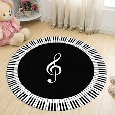 round carpet new piano and keyboard round carpets for living room home area rugs for bedroom kids cartoon computer chair doormat mohawk commercial carpet