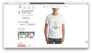 T Shirt Design Template Maker The Best T Shirt Templates Clothing Mockup Generators