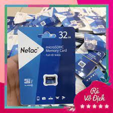 Hàng Vinago Thẻ nhớ 32GB Netac Class 10 Đa Năng- Bảo hành 5 năm k8386 tại  Hà Nội