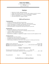 professional qualifications resume sample resume for entry level