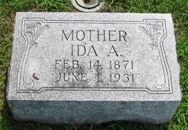 Ida A Welch (Boydston) (1871 - 1931) - Genealogy