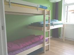 Bunk Beds For Short Ceilings Inspirational Triple Bunk Bed In Room With Low  Ceiling. Three