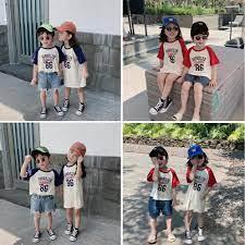 Áo/ Váy đôi cá tính cho bé trai và bé gái (HN 438/ 440)