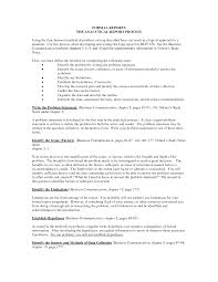Best Of Simple Report Format Example Photos Formal Sample