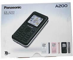 Panasonic A200 Unlocked Asian European ...