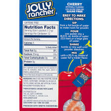 jolly rancher singles to go low calorie drink mix sugar free cherry 6 pk 0 57 oz walmart