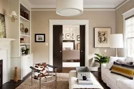 Apartment:Inviting Apartment Design With Neutral Beige Color Scheme Also  Black Sliding Door Apartment Plan