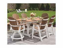 berlin gardens 6 seat outdoor dining