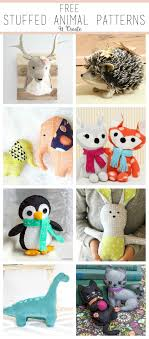 Free Stuffed Animal Patterns Delectable Free Stuffed Animal Patterns The Cutest Amigurumi Pinterest
