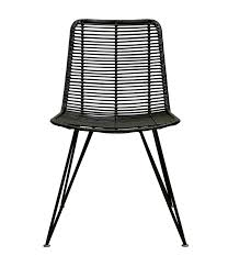 black wicker dining chairs. Rattan Weave Dining Chair Black Wicker Patio Chairs A