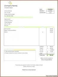 Free Download Sample Invoice Template Word Download Unusual Resume ...