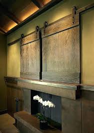 decorative cover door flat screen covers above wooden fireplace decorative cover door flat screen covers above sol g outdoor cover