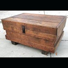 coffee table chest storage rustic primitive industrial chic coffee table chest storage box made from vintage coffee table chest storage